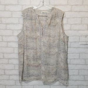 Violet & claire sleeveless blouse size 2x